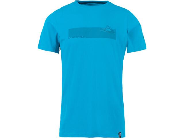 La Sportiva Pulse T-paita Miehet, tropic blue
